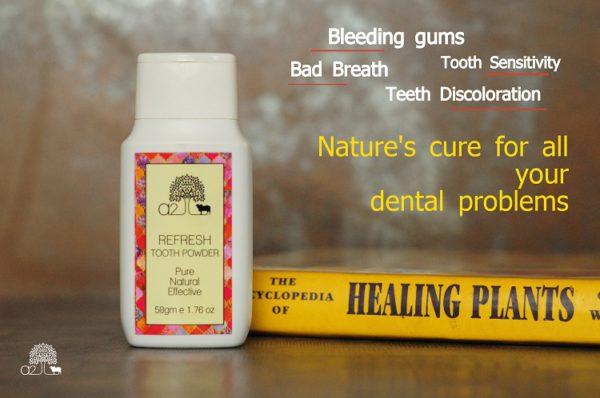 A2 Naturals Tooth Powder